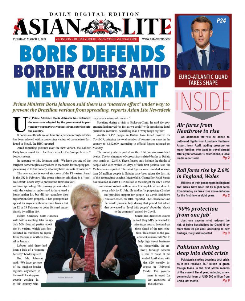 Asian Lite DD UK – Mar 2, 2021