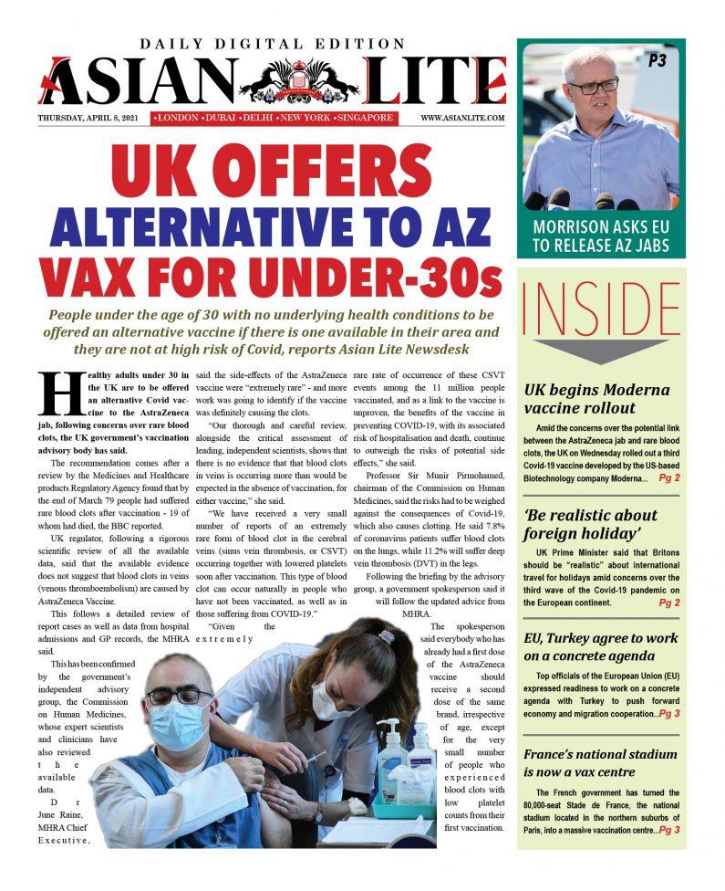 Asian Lite DD UK – Apr 8, 2021