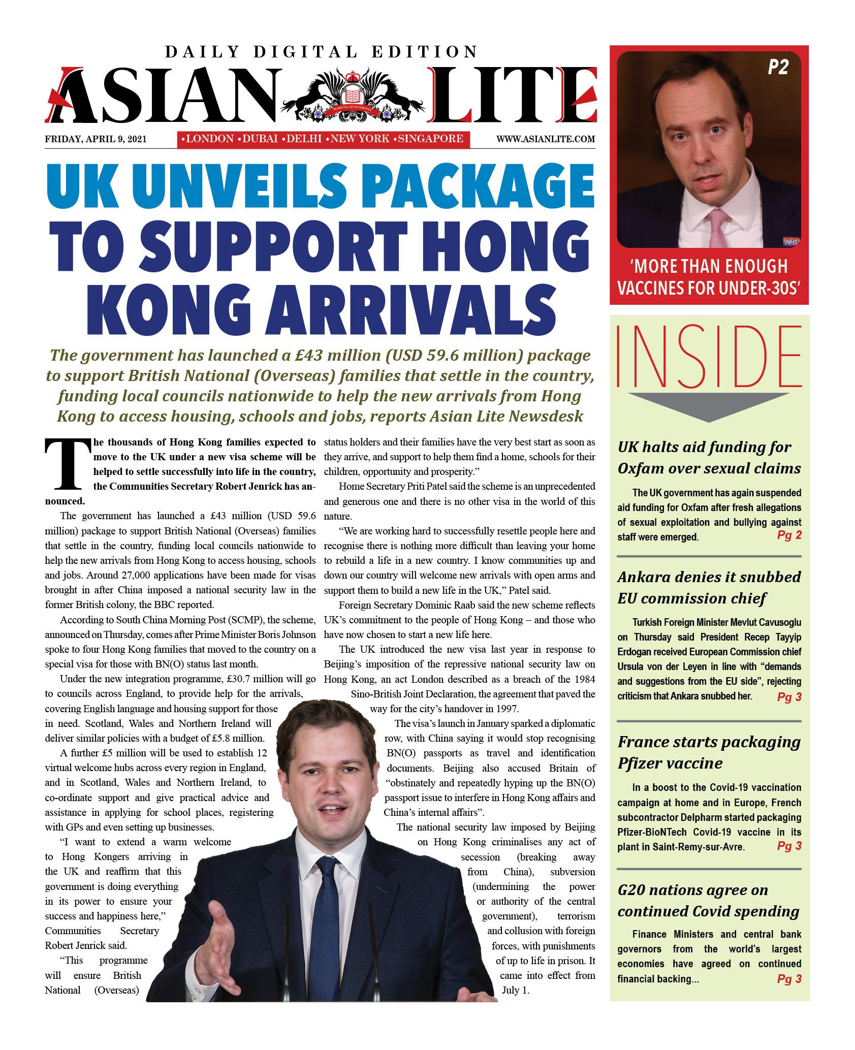 Asian Lite DD UK – Apr 9, 2021