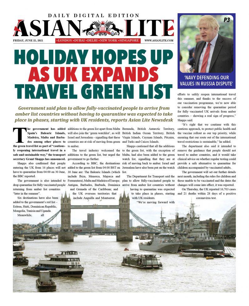 Asian Lite DD UK – June 25, 2021