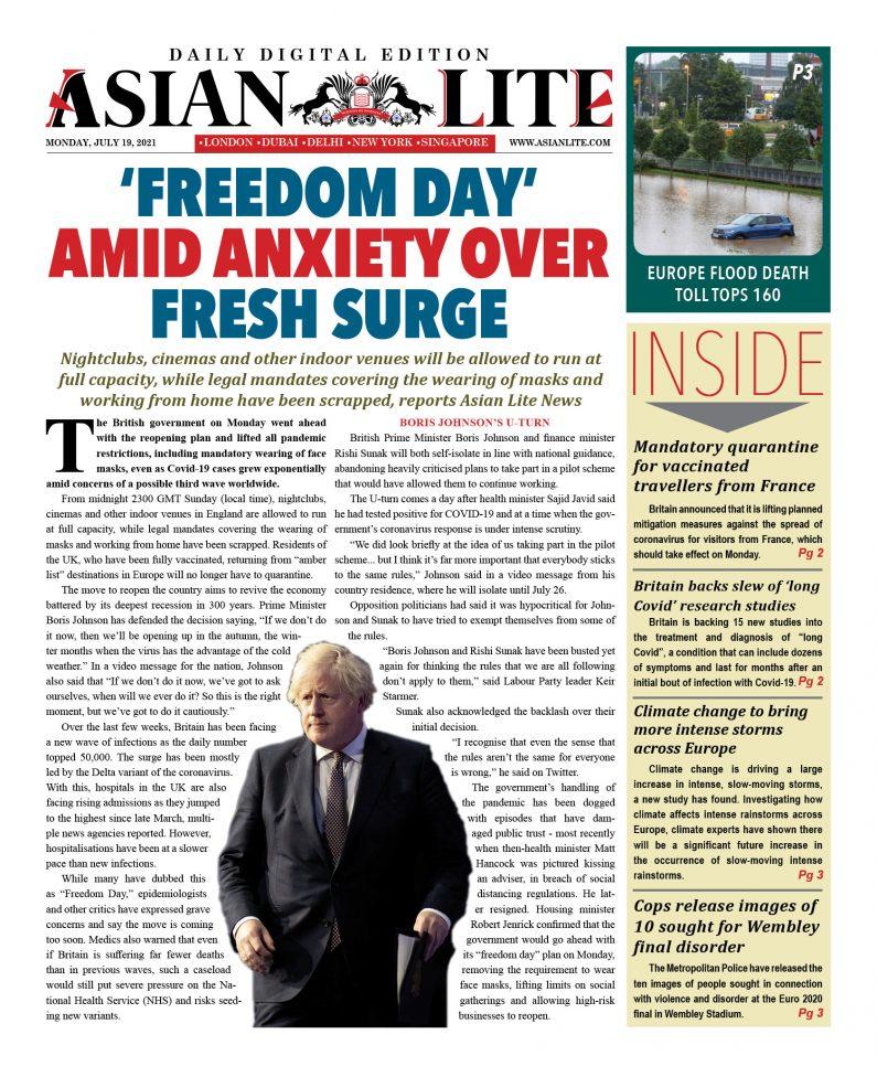 Asian Lite DD UK – July 19, 2021