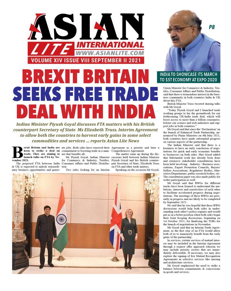 Asian Lite September II, 2021-UK PRINT