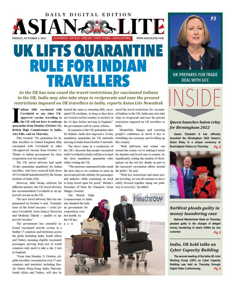 Asian Lite DD UK – Oct 8, 2021